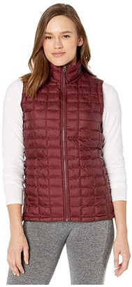 The North Face ThermoBalltm Eco Vest (Deep Garnet Red Matte) Women's Vest