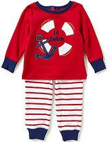 Starting Out Baby Boys 12-24 Months Lil Sailor Long-Sleeve Tee & Pull-On Pants Set