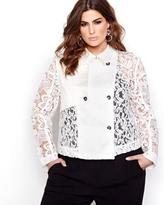 Addition Elle Rachel Roy Cropped Trench Jacket