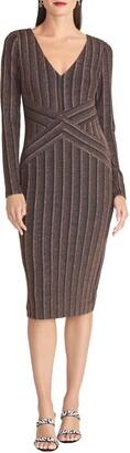 Rachel Roy Quinn Long Sleeve Sheath Dress