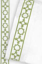 Jonathan Adler Parish Twin Sheet Set - Green