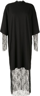 Strateas Carlucci Layered Long Dress