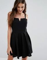Wal G Dress Cami Skater Dress