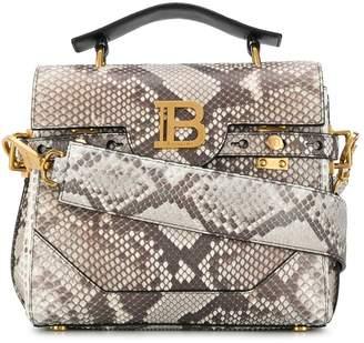 Balmain Snakeskin-Effect Tote Bag