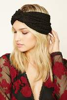 Forever 21 FOREVER 21+ Chevron Embroidered Headwrap