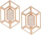 Vita Fede Attura 24k Gold-Dipped Prism Stud Earrings