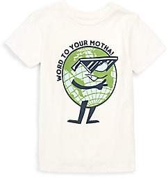 Tiny Whales Little Boy's & Boy's Word To Your Motha Tee