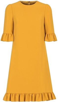 Dolce & Gabbana Ruffle-Trim Short Dress