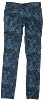 Tory Burch Floral Skinny Jeans w/ Tags