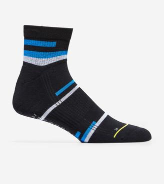 Cole Haan ZERGRAND Team Stripe Quarter Socks