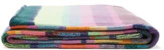 The Elder Statesman Super Soft Striped Cashmere Blanket - Multi