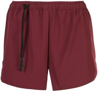 SIKI IM red track shorts
