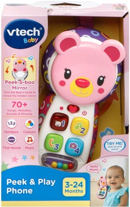 Vtech Peek & Play Phone - Pink