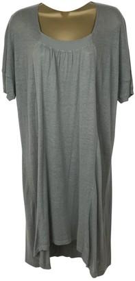 Sandro Khaki Linen Dress for Women