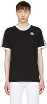 Kappa Ssense Exclusive Black and White Authentic Vale T-shirt