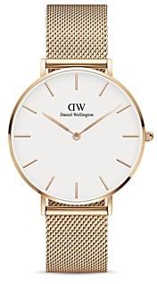 Daniel Wellington Petite Melrose Mesh Bracelet Watch, 36mm