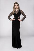 Cachet Embellished Long Sleeves Dress 57535
