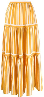 Chinti and Parker Pleated Maxi Skirt