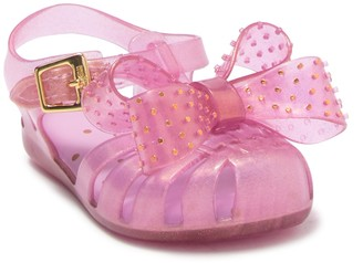 Mini Melissa Mini Aranha XIII Bow Sandal (Toddler)