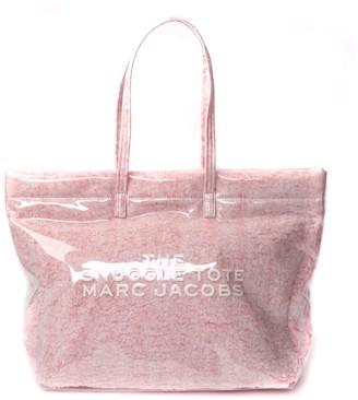Marc Jacobs Pink Snuggle Tote Pvc Bag