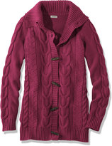 L.L. Bean Women's Bailey Island Sweater, Button-Front Cardigan