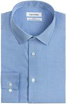Calvin Klein Men's Slim Fit Non Iron Gingham