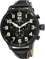 Zeno Men's 6221-8040-BK-A1 Super Oversized Chronograph Dial Watch