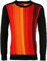 Balmain tonal stripes jumper - men - Cotton - S
