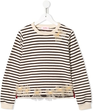 Familiar Striped Mariner Sweatshirt
