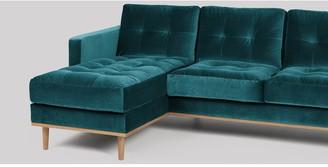 Swoon Berlin Fabric Left Hand Corner Sofa