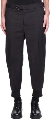 Neil Barrett Pants In Black Polyester