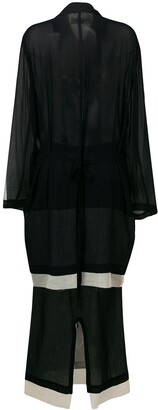 Comme des Garcons Pre-Owned 1993 Skirt and Cardigan Ensemble