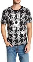 True Religion Knock Out Crew Neck Graphic Tee