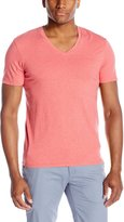 Ben Sherman Men's Short Sleeve Solid V-Neck T-Shirt
