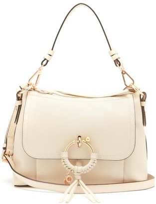 See by Chloe Joan Small Leather Cross-body Bag - Cream