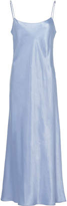 Vince Satin Midi Dress Size: XS