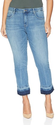 Lucky Brand Women's Plus Size HIGH Rise Hayden Straight Jean in Agnes 24W