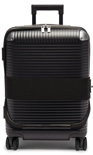 FPM Milano Bank Zip Spinner 53 Cabin Suitcase - Black