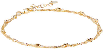 Argentovivo Layered Curb Chain Anklet