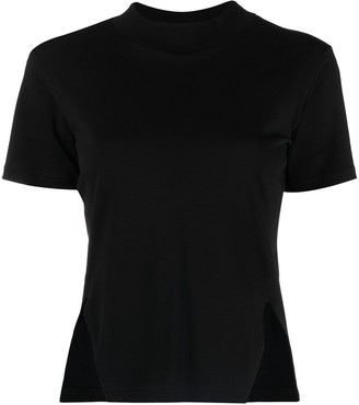 Song For The Mute side-slit cotton T-shirt