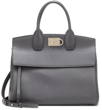 Salvatore Ferragamo Studio small leather tote