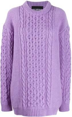 Han Kjobenhavn cable knit jumper dress