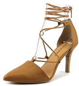 Lucky Brand Sabreena Women Pointed Toe Leather Heels.