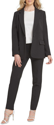 DKNY Single Breasted One Button Jacket