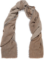 Lily & Lionel Bailey wool-blend bouclé scarf