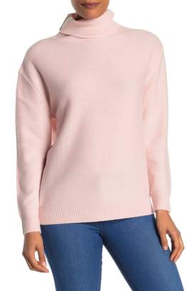Magaschoni Long Sleeve Funnel Neck Cashmere Sweater