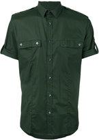 Les Hommes plain shirt - men - Cotton/Spandex/Elastane - 46