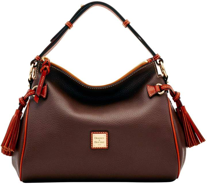 Dooney & Bourke Pebble Grain Medium Zip Hobo