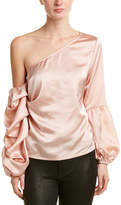 Blvd One-Shoulder Top
