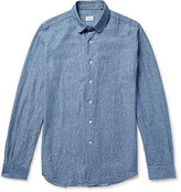Incotex - Slim-fit Cotton-chambray Shirt